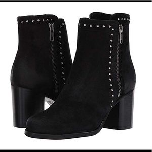 Frye Addie Studded Black Boots with Heel